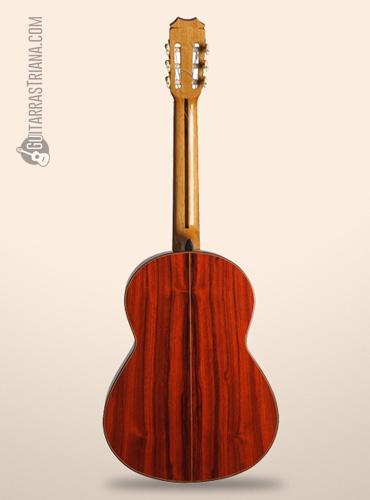 guitarra flamenca Bros Buleria por detrás