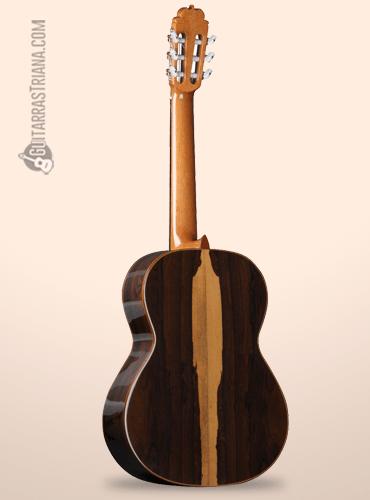 tapa trasera de ziricote de la guitarra alhambra luthier aniversario