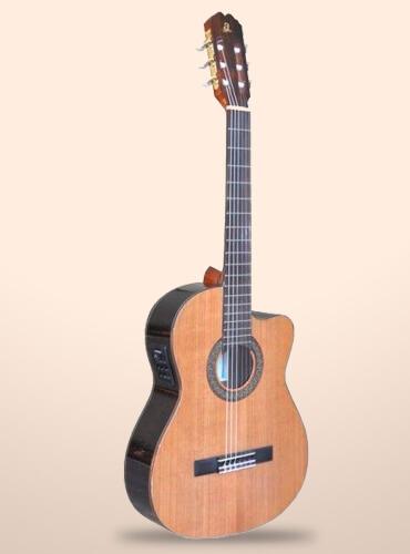 guitarra admira virtuoso cutaway