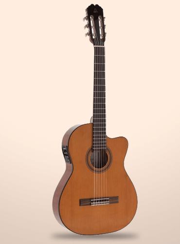 guitarra admira málaga ec cuerpo estrecho