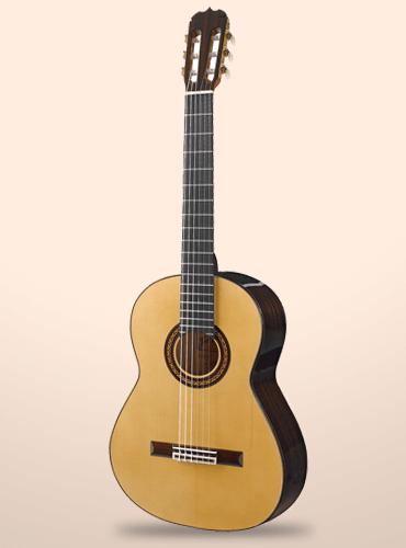 guitarra ramírez flamenca negra