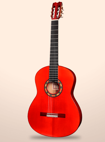 guitarra conde atocha ciprés rosas azules