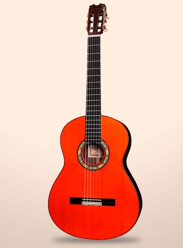 guitarra conde atocha palosanto de India 1