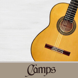 catálogo de modelos de guitarras Camps