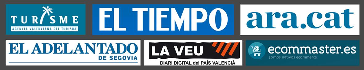 Logos de periódicos