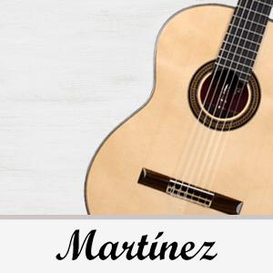 catálogo de guitarras Martínez