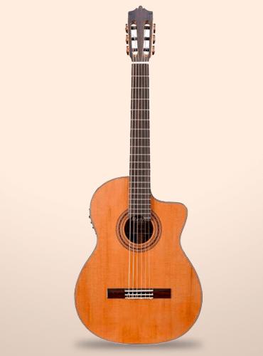 guitarra martínez mcg-58c ce